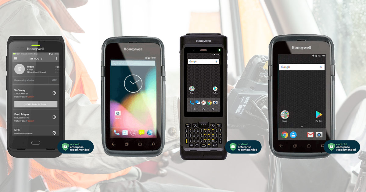 Mobility Edge™-serien med Android