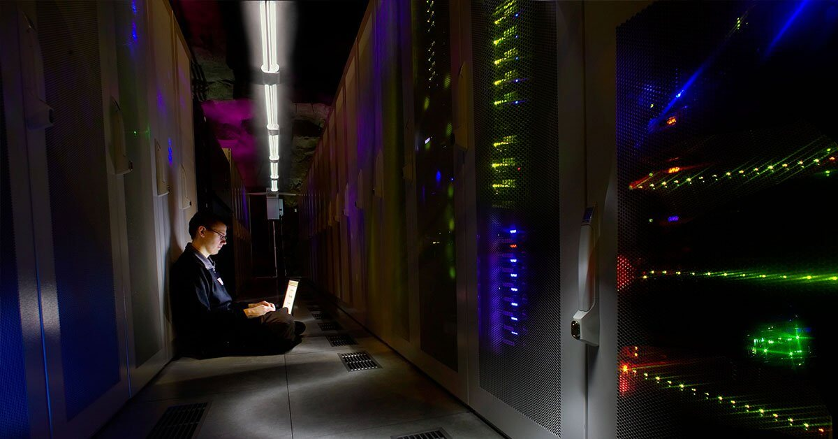 Bahnhofs datacenter Pionen är världens coolaste