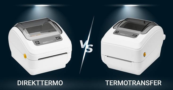 Skillnaden mellan direkttermo och termotransfer