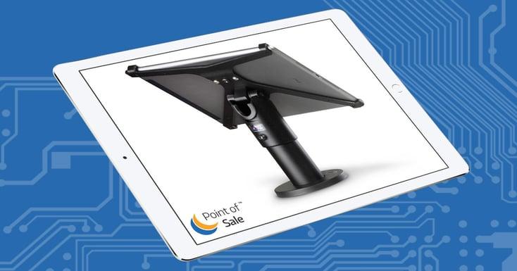 SpacePole X-Frame från Ergonomic Solutions för iPad Air