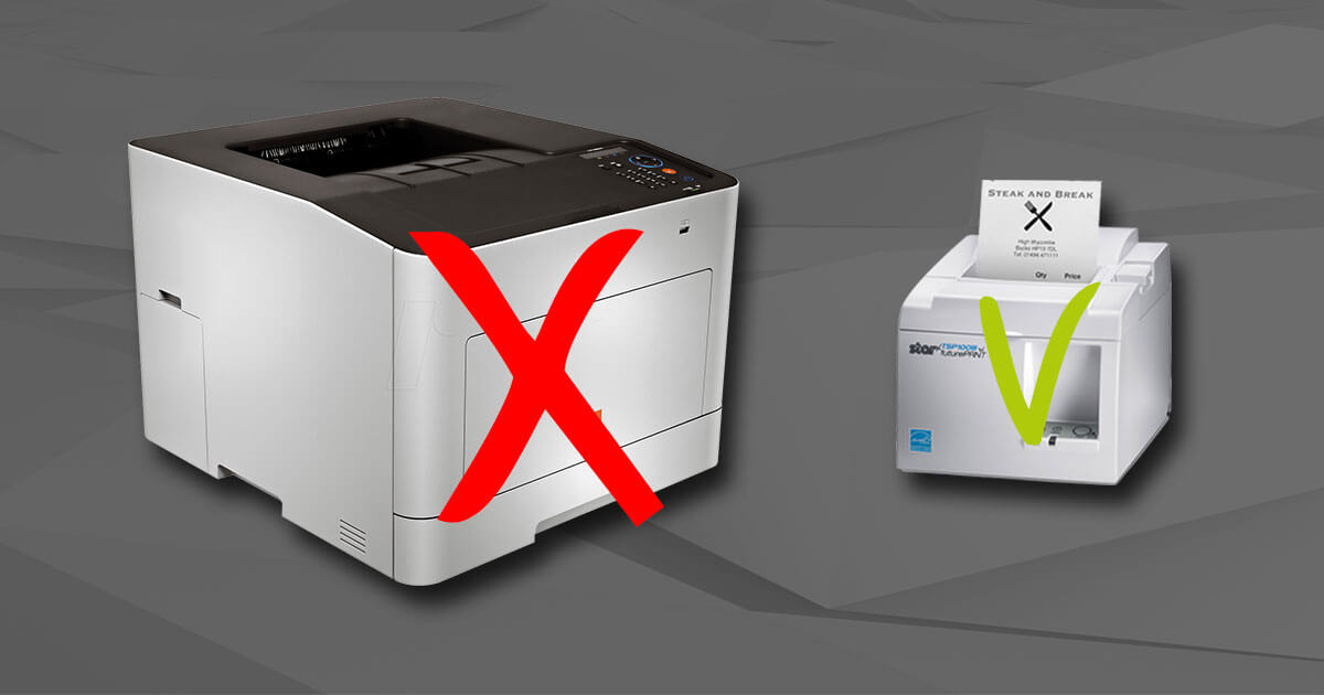 Ersätt laserprintern med en kvittoskrivare från Star och gör stora kostnadsbesparingar