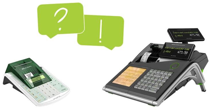 Frågor och svar för kassaregister från Elcom