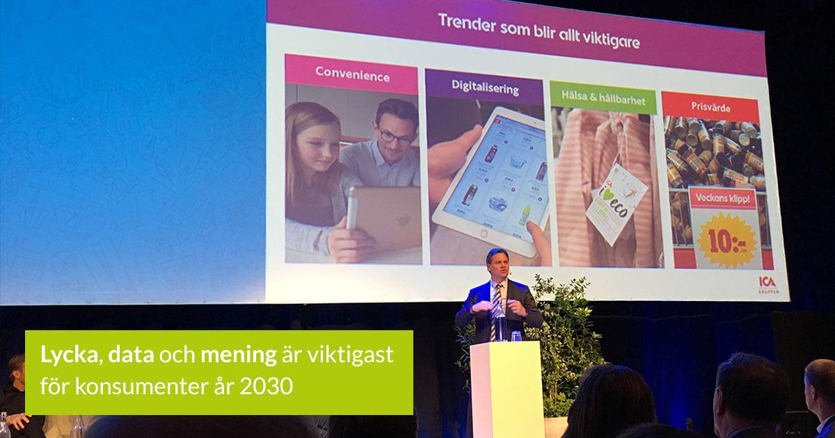 Anders Svensson, VD på ICA Sverige