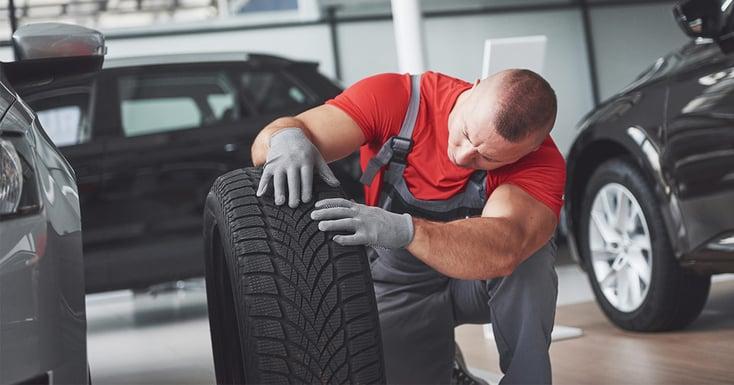 GreenLabel däcketiketter gör det lätt för dig att hålla ordning på dina bildäck