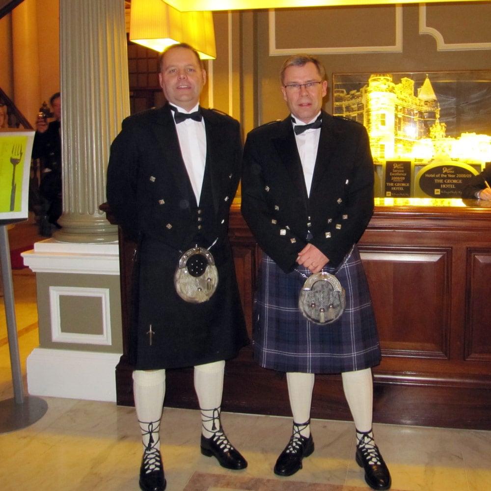 Johan och Urban på besök hos Star i Edinburgh 2010