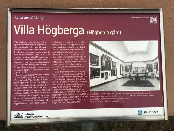 Villa högberga (Högberga gård)
