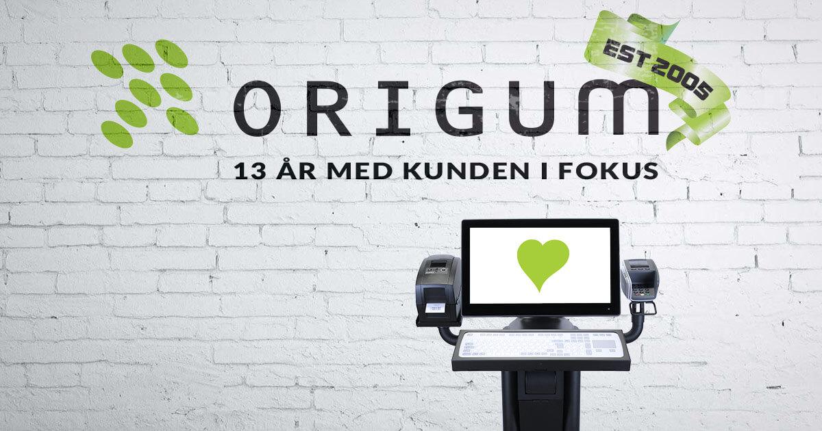 Origum Distribution fyller 13 år