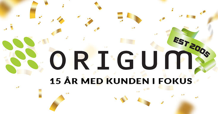 Origum Distribution - 15 år med kunden i fokus
