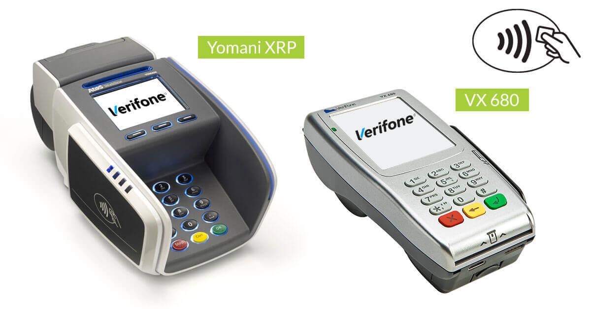 Betalterminal Yomani och VX 680 från Verifone