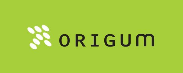 Primär logotyp (positiv version 2, på grön bakgrund)