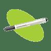 Rengöringspenna för termohuvud