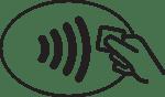 Betalterminaler från Verifone har stöd för kontaktlösa betalningar