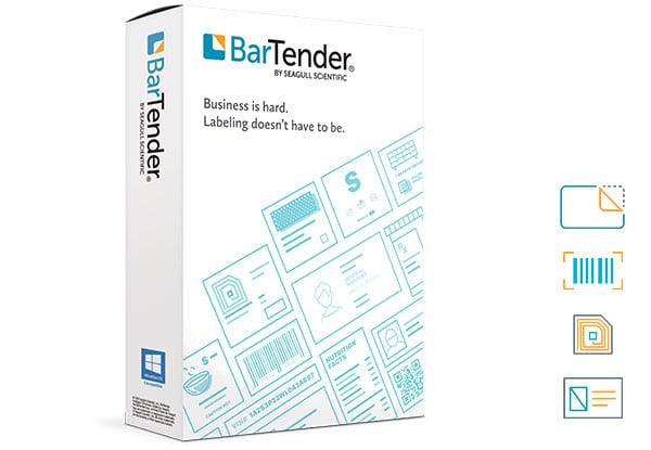 BarTender produktförpackning