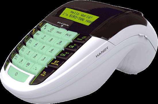 Elcom kassaregister Euro-500TE Handy