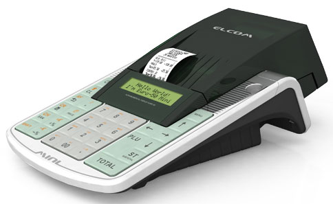 Elcom Euro-50TE Mini kassaregister