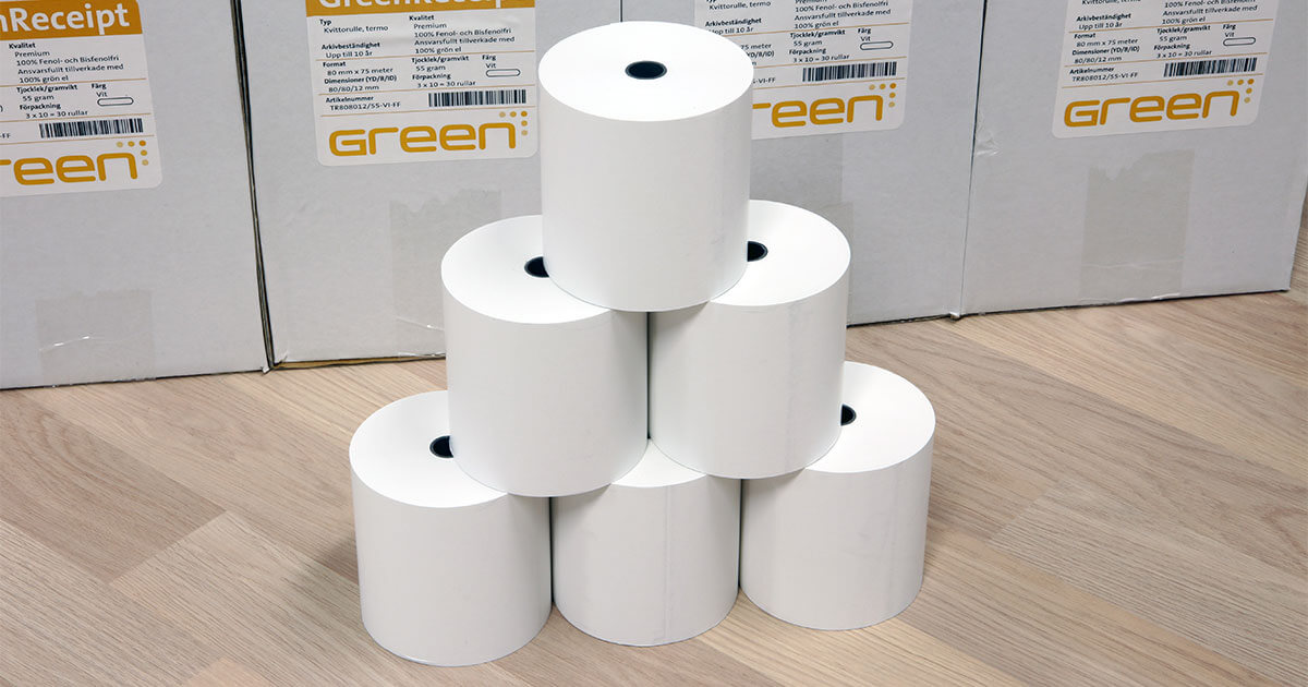 GreenReceipt Premium 125 gram i lager