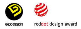 Good Design och Red Dot Design Award