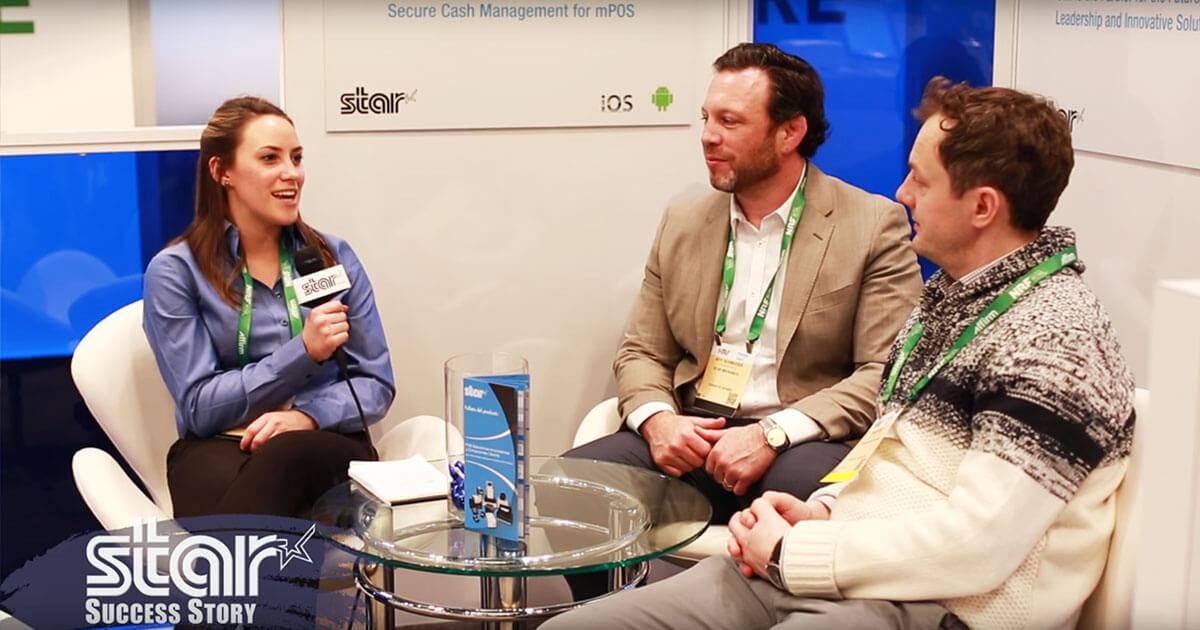 Jeff Schneider, grundare och chef för SuiteRetail och David Reid, CFO i Dylan's Candy Bar, berättar om integrationen av Star-produkter med SuiteRetails POS-programvara i Dylans Candy Bar-butiker