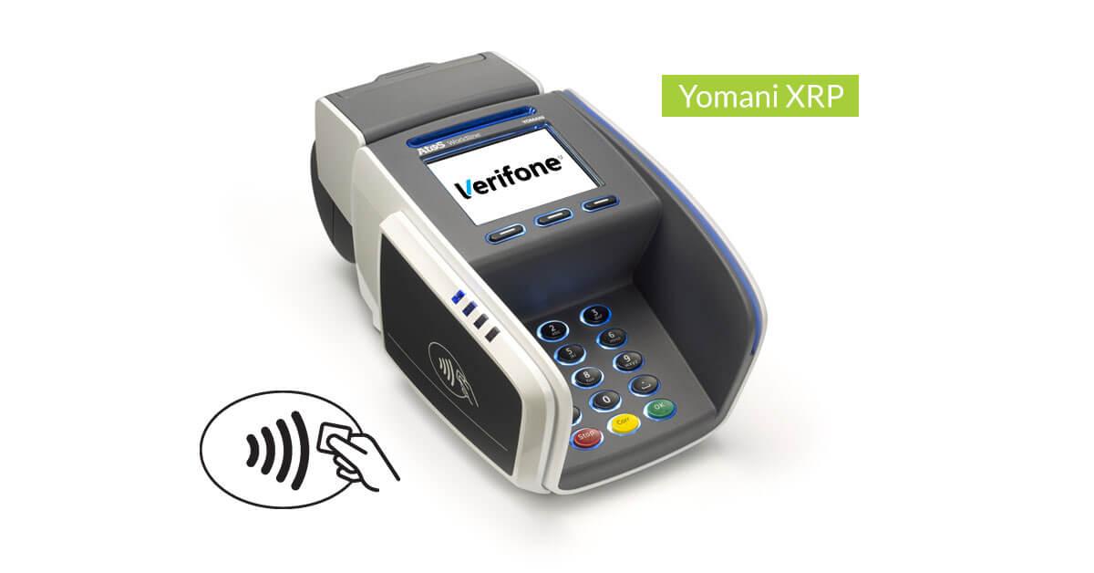 Betalterminal Yomani XRP från Verifone