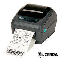 Etikettskrivare och etiketter från Zebra Technologies