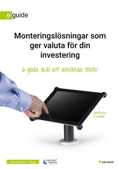 Monteringslösningar som ger valuta för din investering