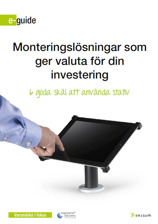 Monteringslösningar som ger valuta för pengarna