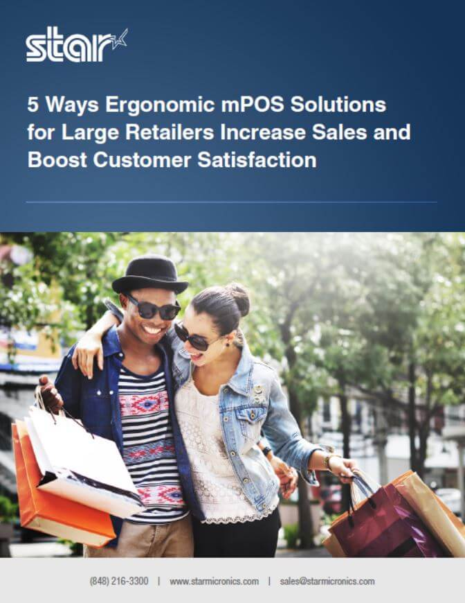 5 Ways Ergonomic mPOS Solutions for Large Retailers Increase Sales and Boost Customer Satisfaction