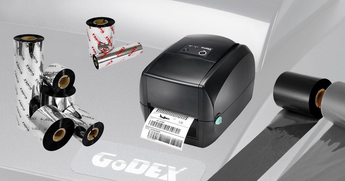 Så väljer du rätt färgband till Godex etikettskrivare