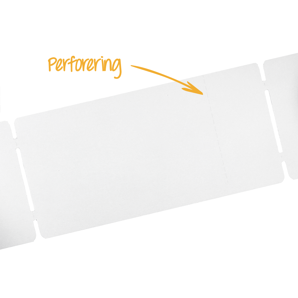 GreenTag Premium Ticket 54 x 110 mm