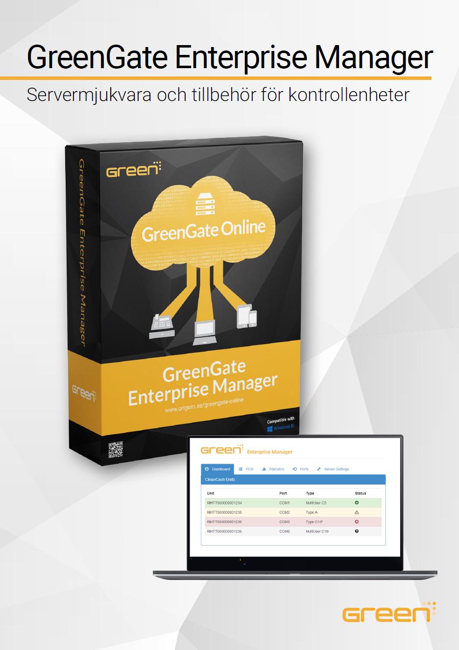 GreenGate Enterprise Manager datablad